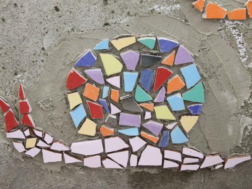 Mosaik Kleben Viel Einfacher Als Ich Dachte Mosaik Pinterest