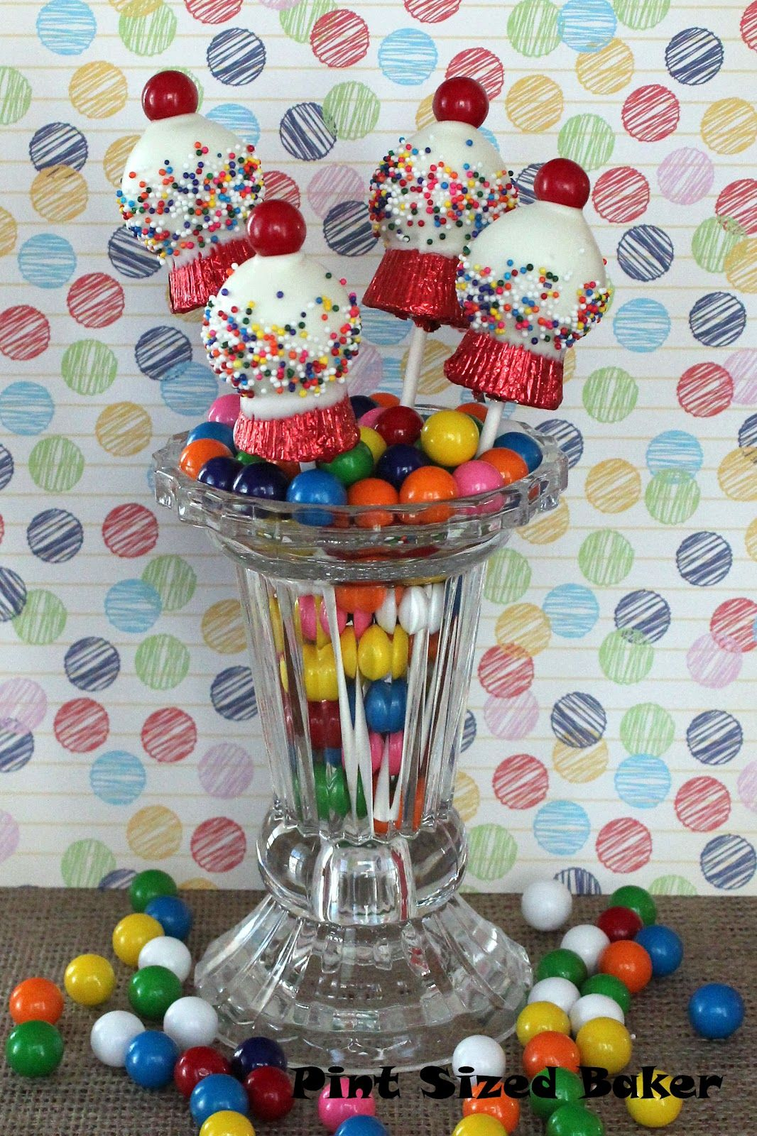 How to Make Gumball Machine Cake Pops
