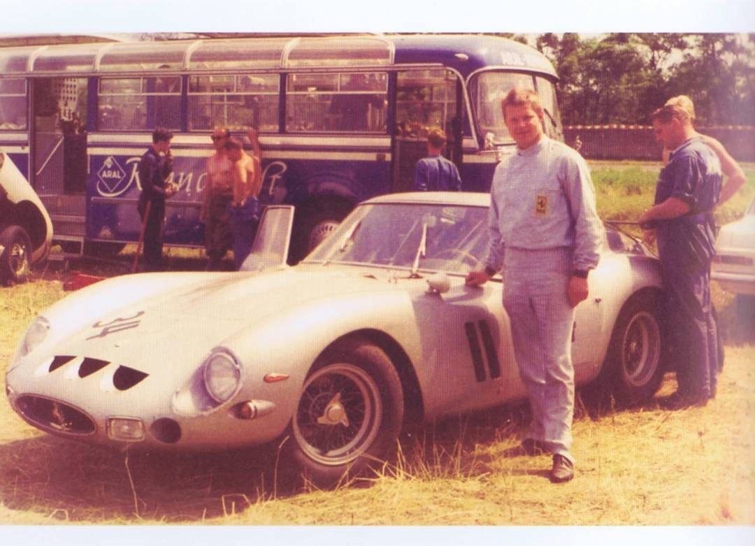 Andreas Cordes On Instagram The First Owner In Germany Of Ferrari 250 Gto 4115 Hermann Cordes At Avus Berlin 1963 4115 Ferrari Gto Gto Ferrari Germany