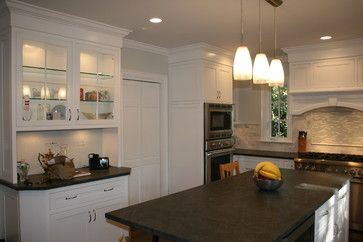 When You Put The Sealer On The Jet Mist Granite Does It Darken It ?  Traditional Kitchens ...