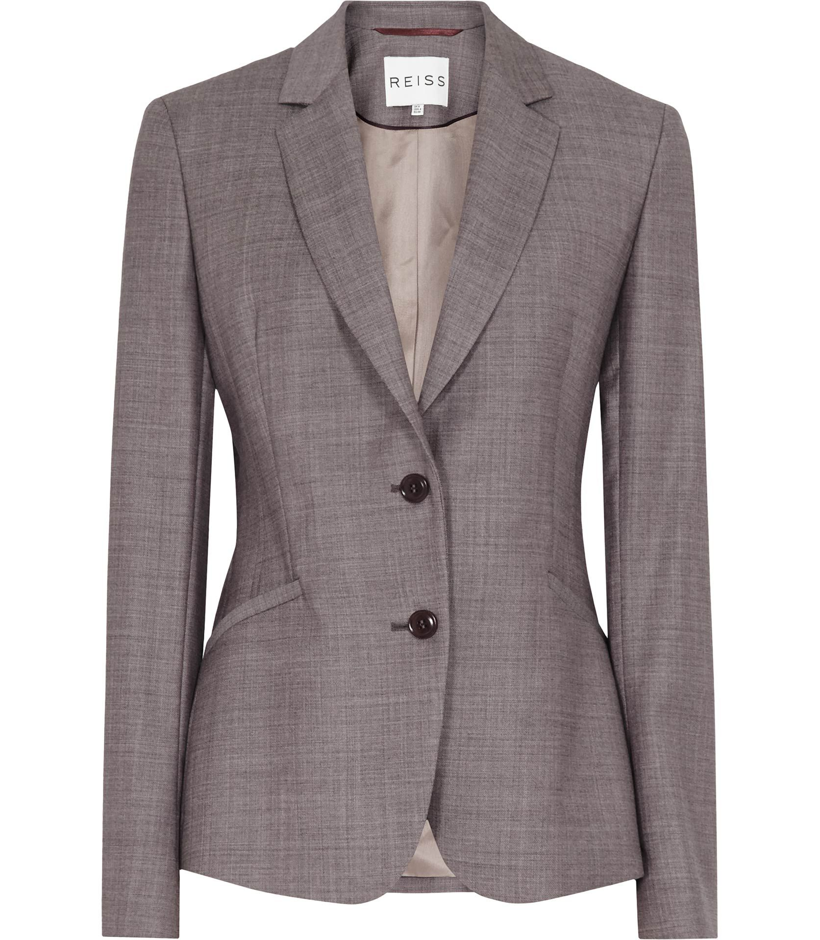 859e2ac5f4 Womens Cranberry Sharply Tailored Jacket - Reiss Sorrento | British ...