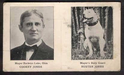 MAYOR BUCKEYE LAKE, OHIO COOKEY JONES & THE MAYOR'S BODY GUARD BUSTER JONES