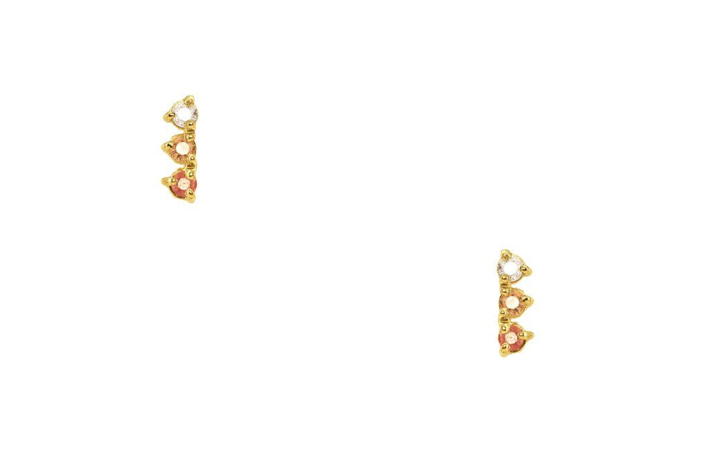 9e79b79370997 Blush Gradient Three-Step Earrings in 2018 | Pretty Things | Pinterest
