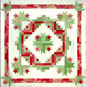 Cactus Wreath Great Quilt Pattern For Jelly Rolls Christmas Quilt Patterns Quilts Christmas Quilts