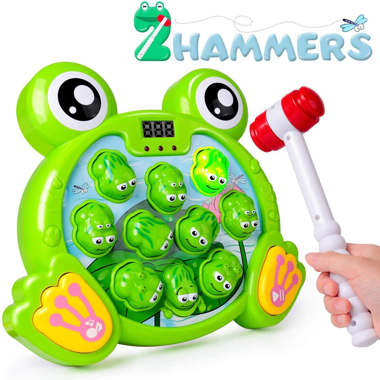 Juego Interactivo Whack A Frog Cumpleaños 2 3 4 5 6 7 Años Actividades Para Niños Y Niñas Juguetes Para Niñas Juguetes Juguetes Educativos Para Niños