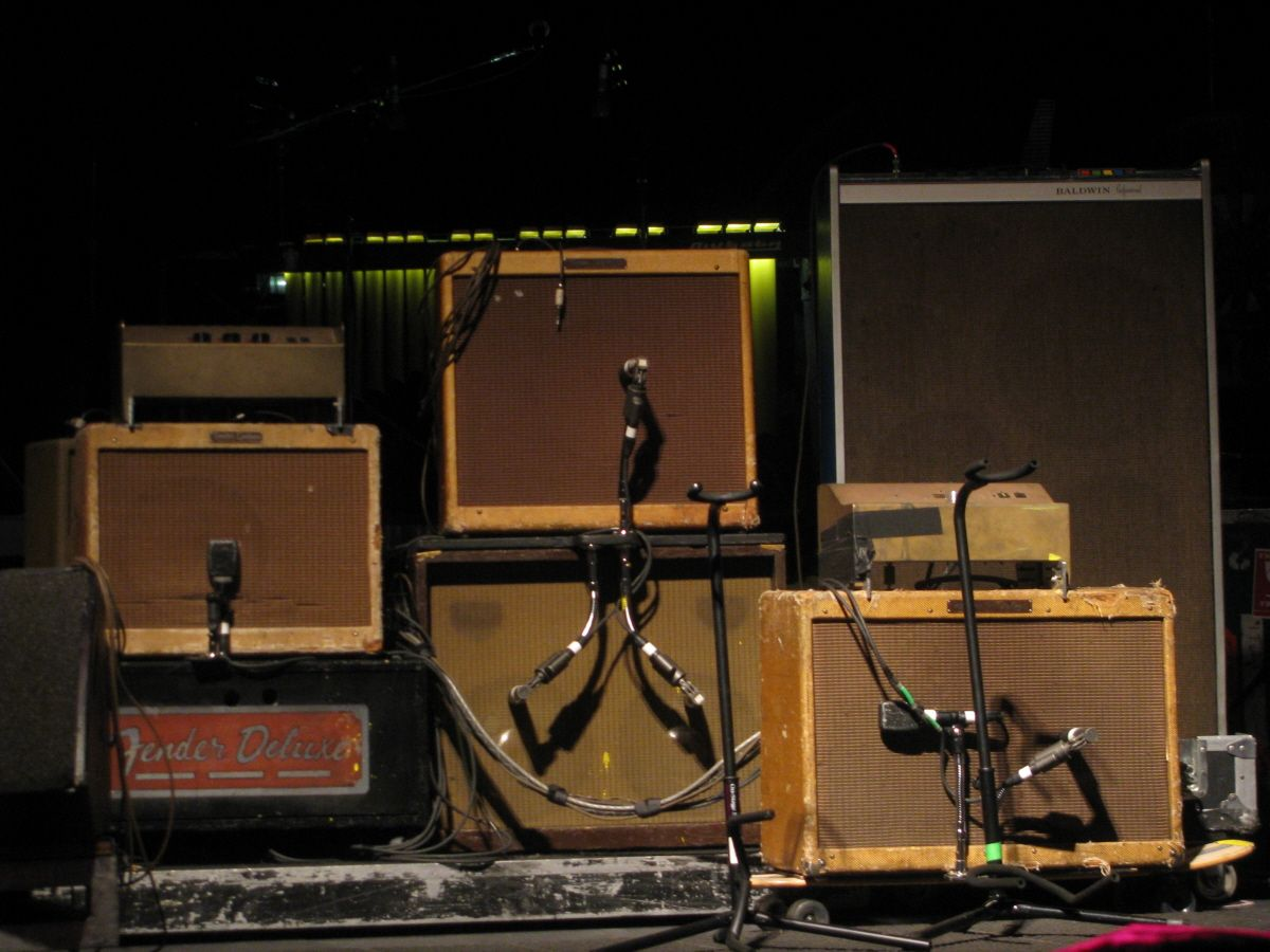 Nice collection | Neil young, Young guitar, Fender guitar amps