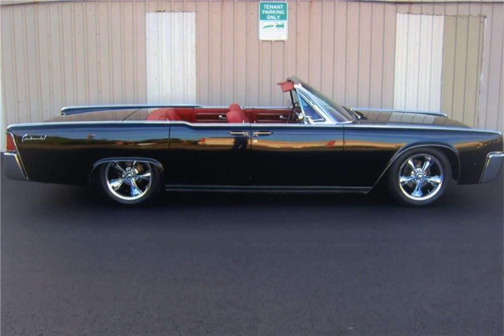 1961 LINCOLN CONTINENTAL CUSTOM 4 DOOR CONVERTIBLE | I Wanna Go Fast