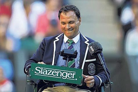 Mohamed Lahyani The Most Famous Tennis Umpire The Muslim News Tennis Famous Slazenger