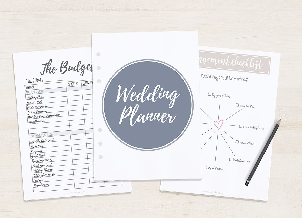Free Printable Wedding Planner A5 Letter Wedding Planner Printables Free Wedding Planner Printables Free Wedding Printables