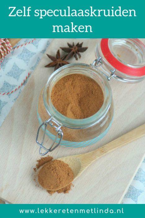Zelf speculaaskruiden maken - Recepten, Speculaaskruiden ...