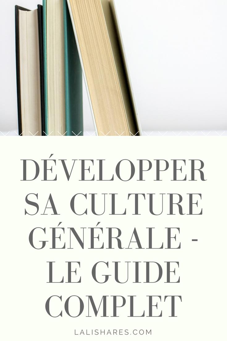 Comment Améliorer Sa Culture Générale : comment, améliorer, culture, générale, Épinglé, Lalishares