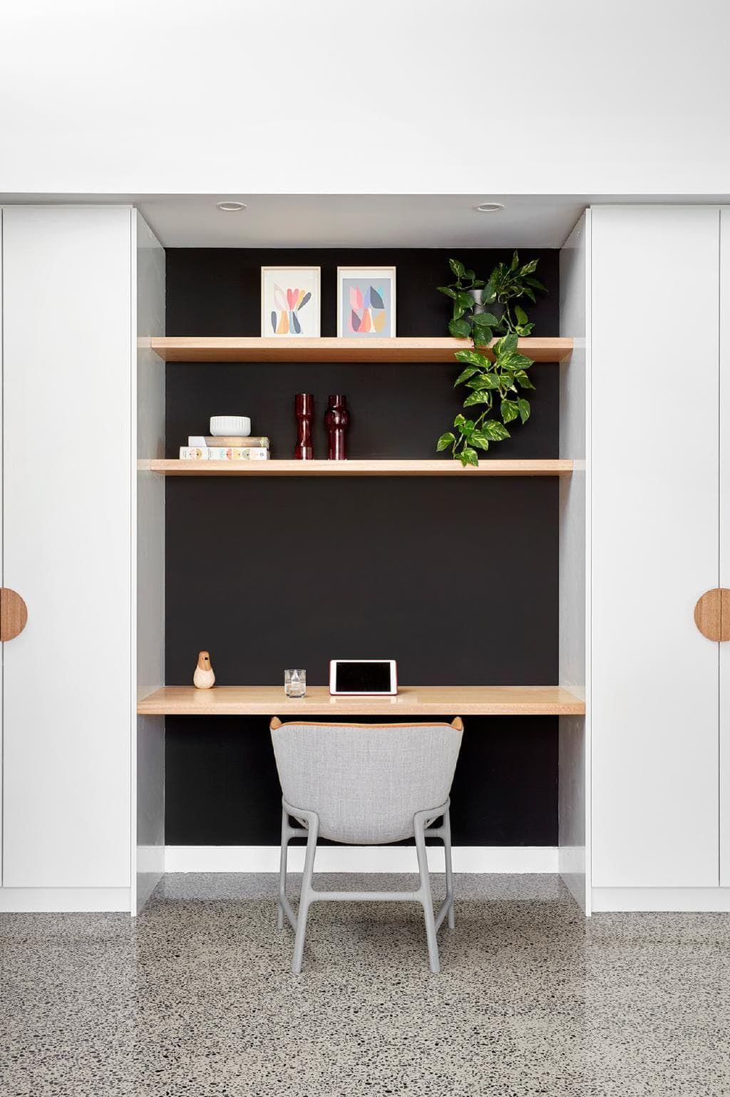 Merry Bright Guest Bedroom Office Desk Nook Computer Nook