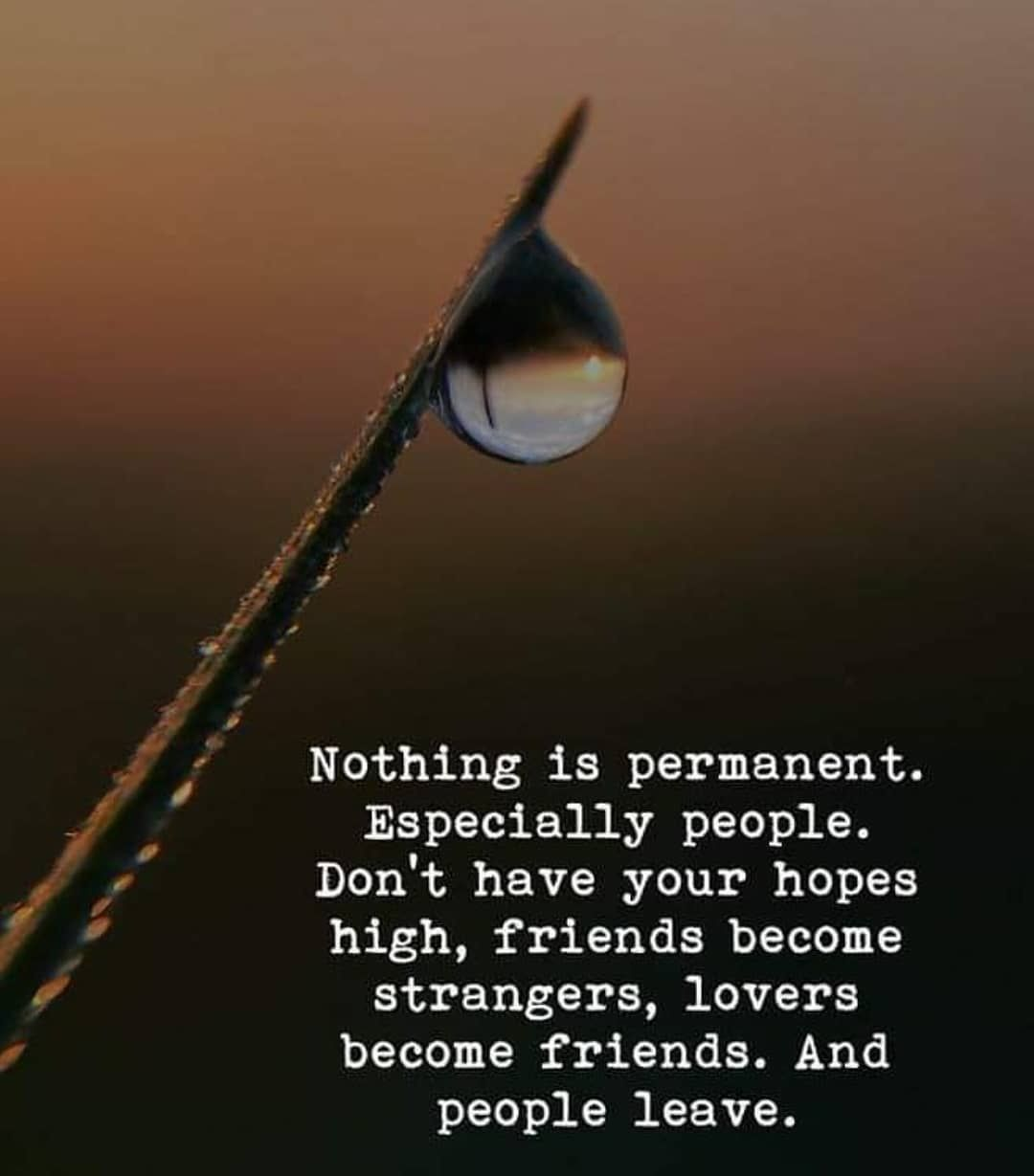 Nothing is permanent life quotes quotes quote life life lessons