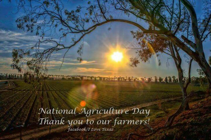 May 14 - National Agriculture Day