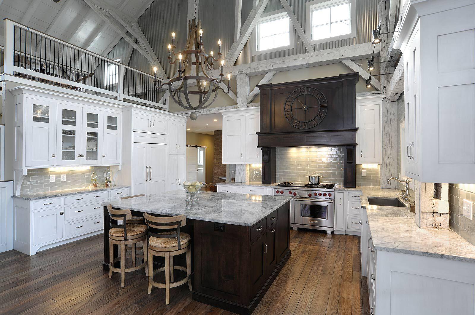 New Rebuilt Timber Frame Barn Home Kitchen  Kitchen Design Adorable Townhouse Kitchen Design Ideas Design Ideas