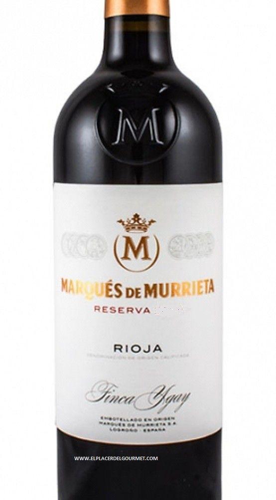 Marques Murrieta Reserva Bt 75cl El Placer Del Gourmet Weinflasche Rotwein Wein