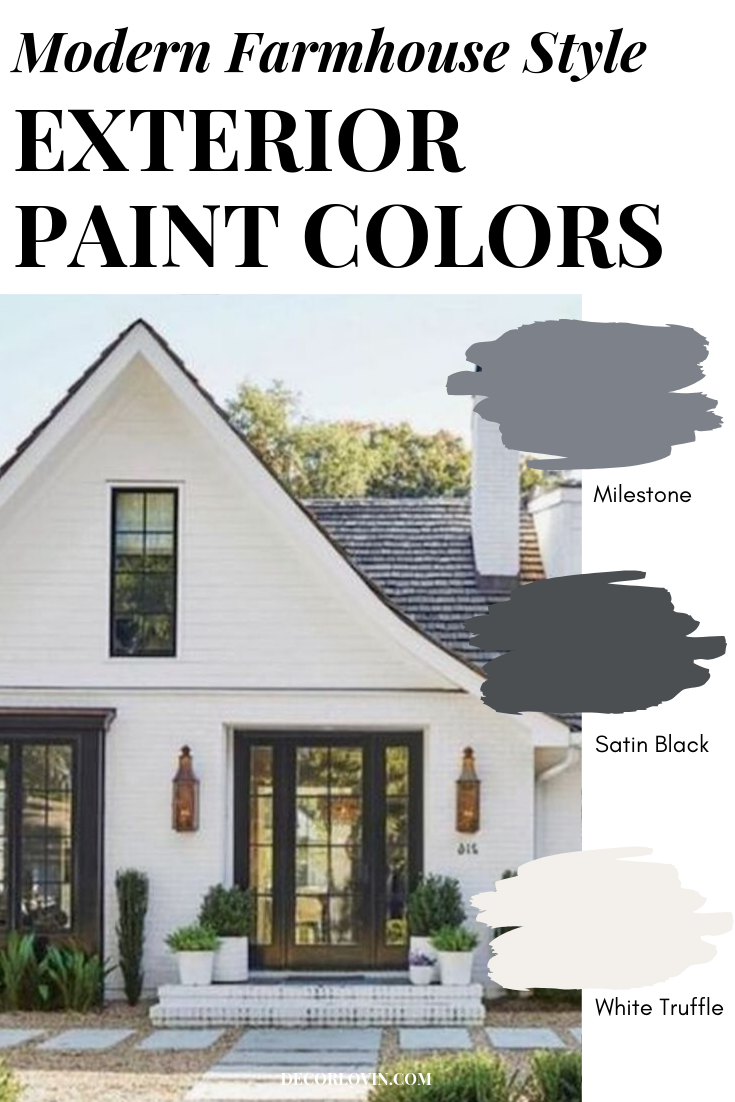 Modern Farmhouse Style Exterior Paint Colors Farmhouse Style Exterior House Paint Exterior Farmhouse Style House