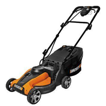 $215 Amazon.com: WORX WG782 14-Inch 24-Volt Cordless Lawn Mower with IntelliCut: Patio, Lawn & Garden