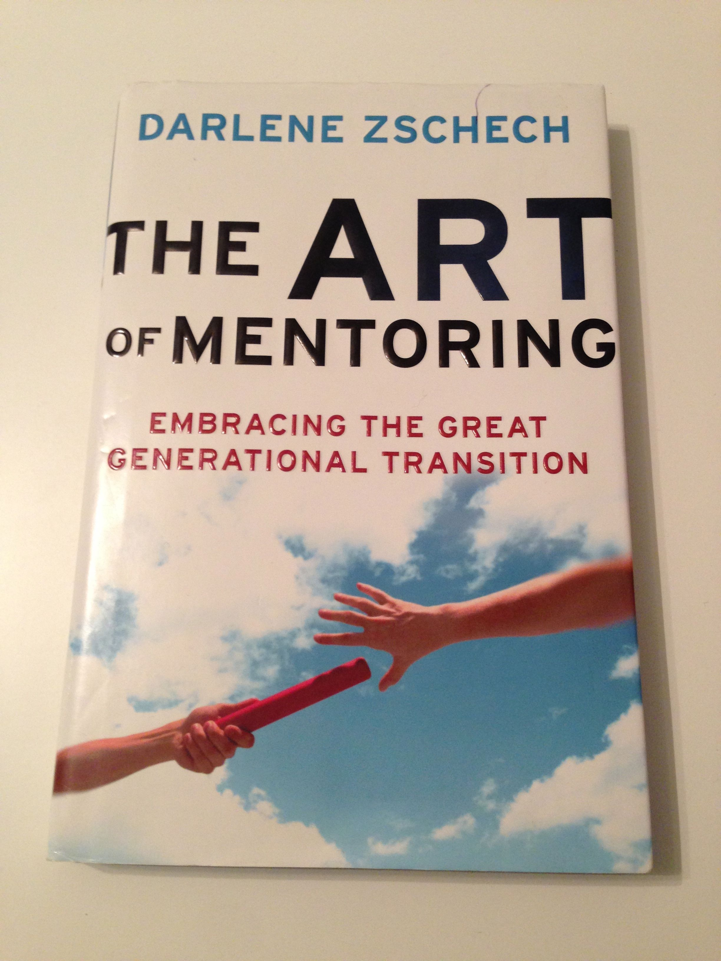 The Art of Mentoring is a book that I purchased in Winnipeg at Springs Conference after seeing Darlene Zschech speak and sing.  She is an amazing woman and this book inspired me to invest my life into the next generation through mentoring.  She mentions in the book that she had a goal to replace herself 10 times in her ministry and she said if she did that her life would count for something.  Excellent book for all leaders.