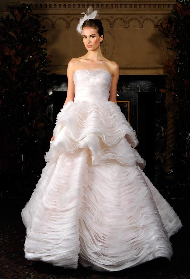 Ball Gowns Drama And Intricate Detailing Define Austin Scarlett Fall Bridal Tiered Organza Voluminous Tulle Beading Make These