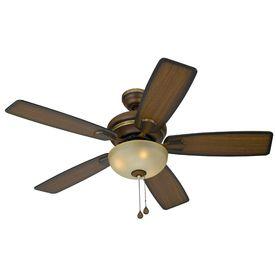 Harbor Breeze 44 In Cedar Hill Walnut Ceiling Fan With Light Kit From Lowes On Sale Til 8 30 13 Ceiling Fan Ceiling Fan Installation Fan Installation
