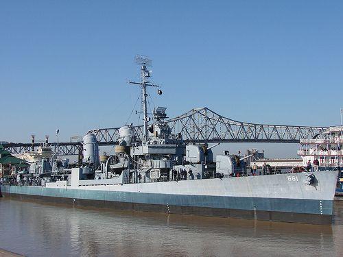 uss kidd museum | USS KIDD DDG100 | Fletcher class destroyer