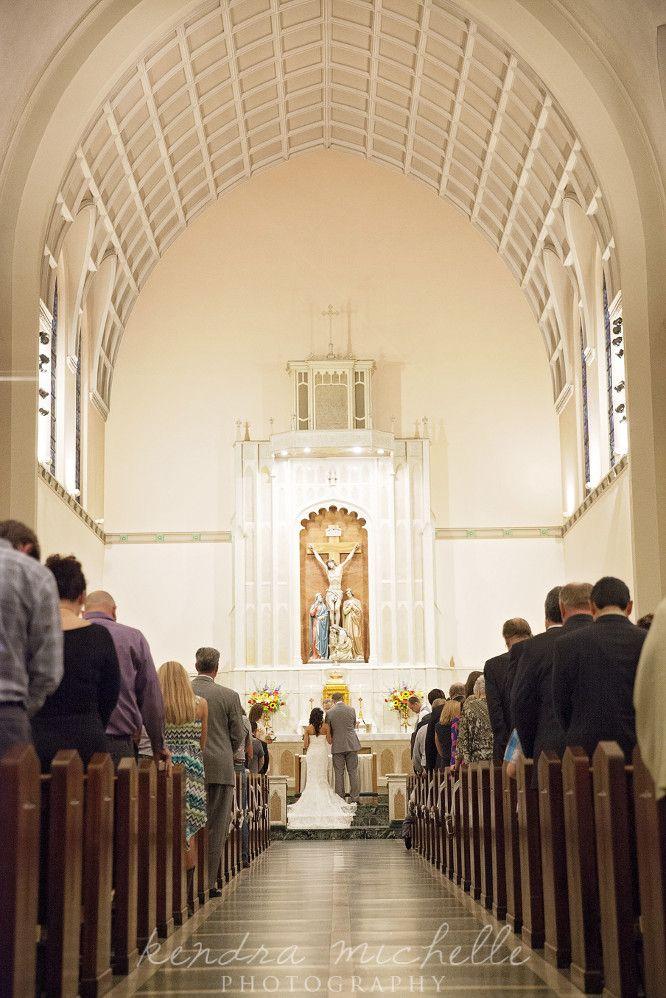 Catholic Wedding Ceremony Josh + Jenna Wedding Day, photo by: Kendra Michelle Photography