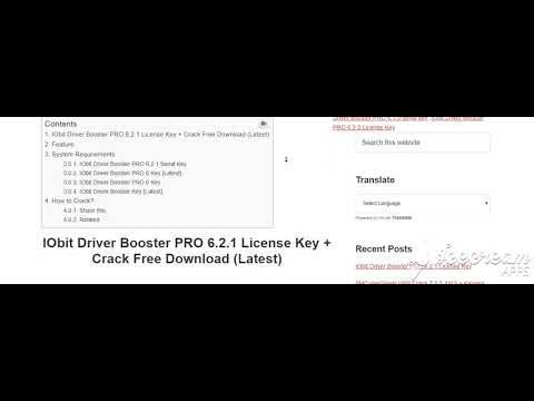 driver booster 6.2 key working