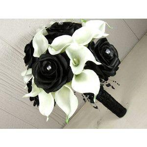 Black Wedding Bouquet Ideas
