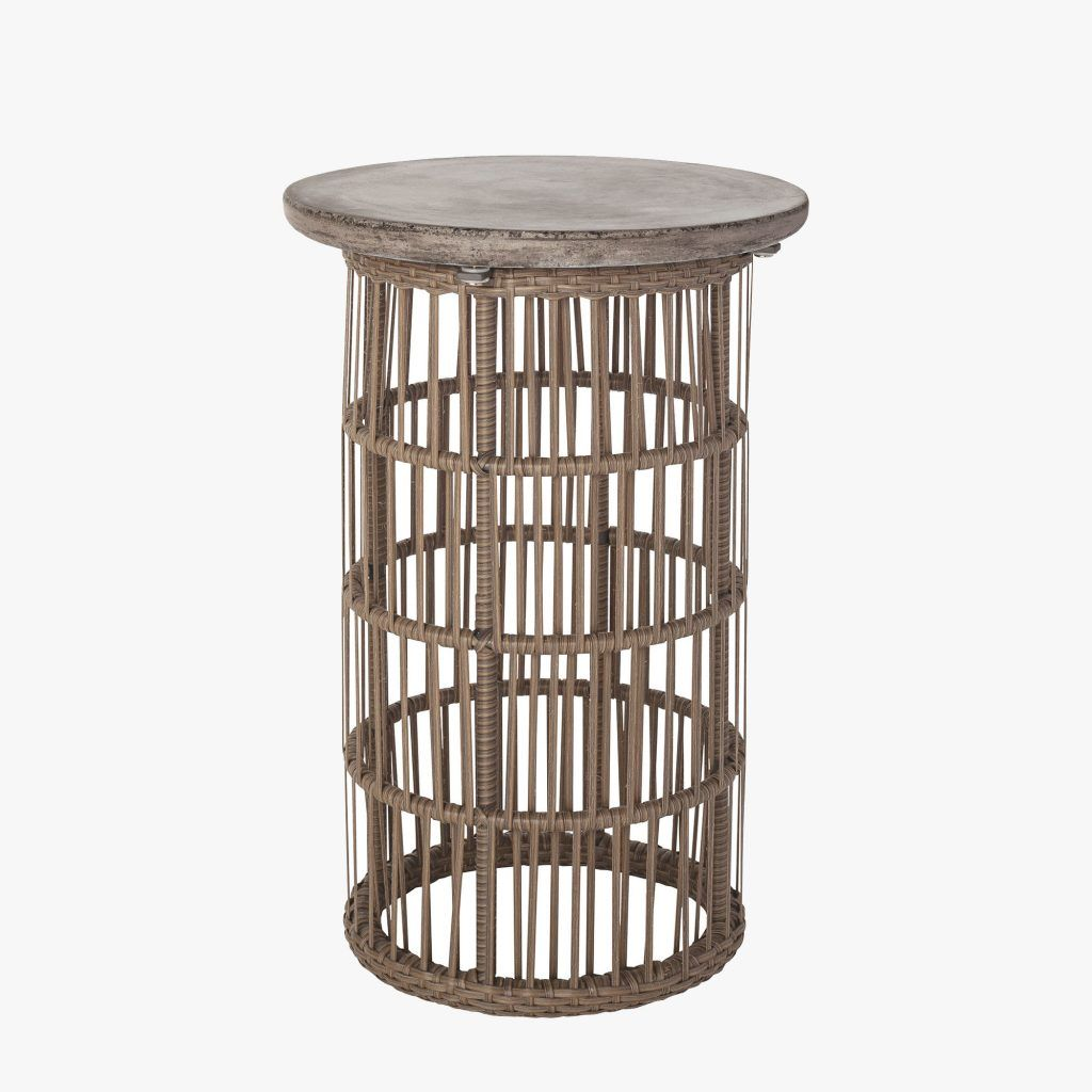 Laguna Rattan Accent Table Shop Accent Tables Wooden Chair Plans Table Elk Lighting