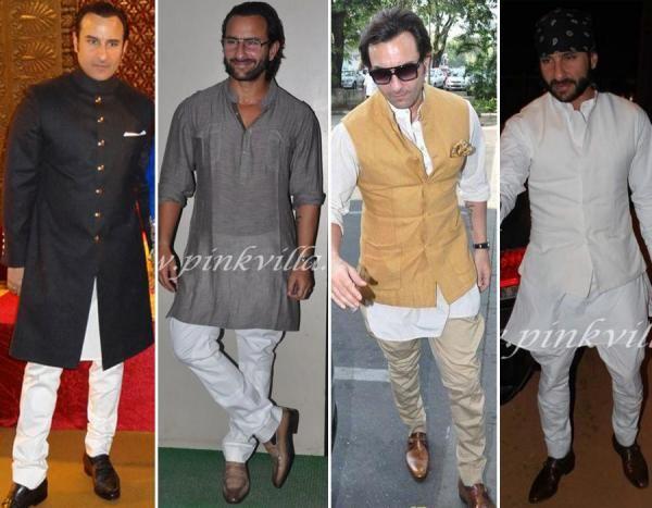 Saif Ali Khan S Nawabi Wardrobe Pinkvilla