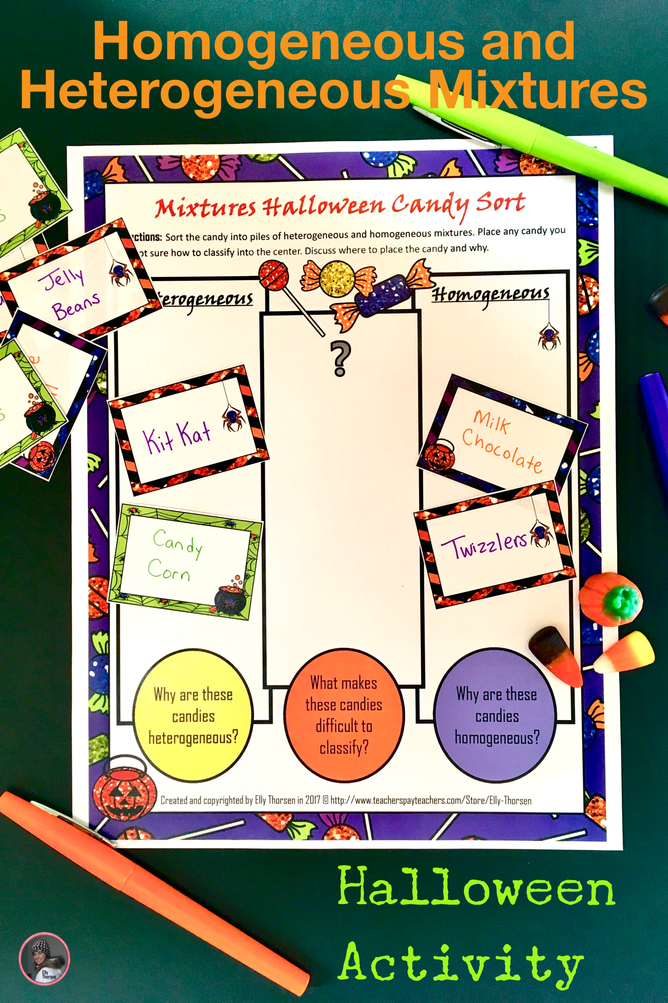 Heterogeneous And Homogeneous Mixtures Candy Sorting