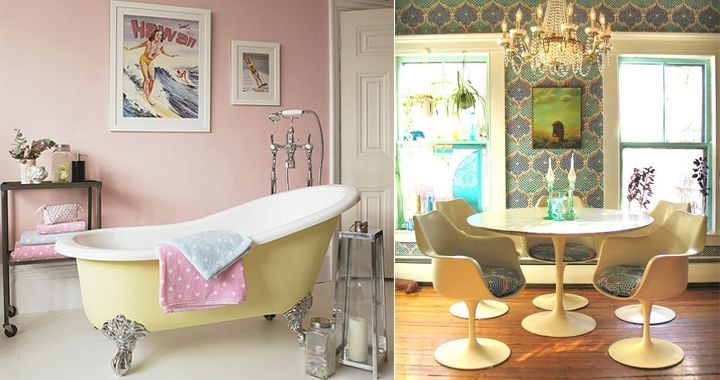 Decorado vintage para casas buscar con google vintage for Casas estilo vintage