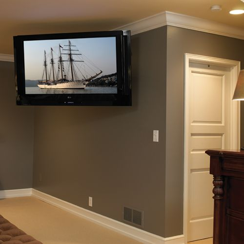 Tv Wall Mount For 42 To 71 Inch Screens Up To 200 Lbs 37