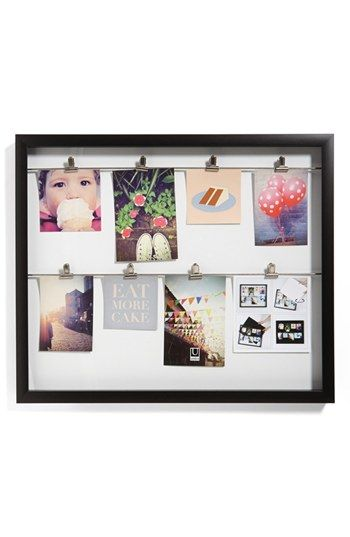 Umbra Clipline Picture Frame | Nordstrom - I want to try making ...