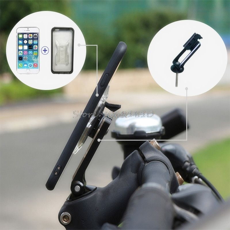 Universal Phone Holder Bike Bicycle Cycling Aluminum Alloy Stand