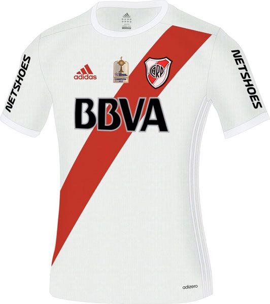 River Plate 2016/2017 by Adidas. (Versión 4)