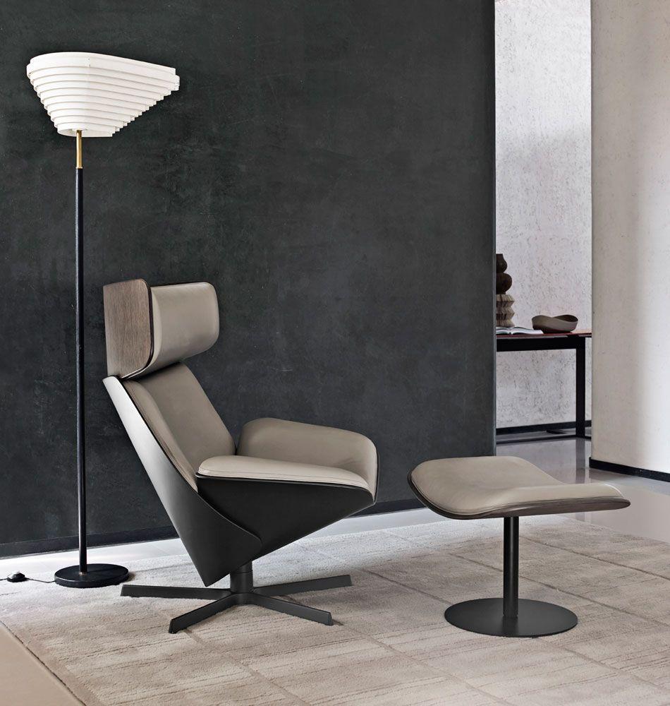 Armchair: ALMORA   Collection: Bu0026B Italia   Design: Doshi Levien