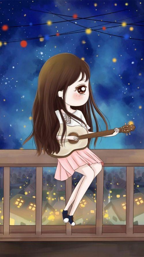 Gambar Art Girl Baby Girl And Xiaoxiao Wei Anime Art Beautiful Cute Love Cartoons Cute Girl Wallpaper