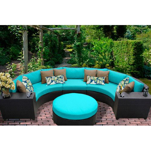 Found it at AllModern - Barbados 6 Piece Sectional Seating Group with Cushion