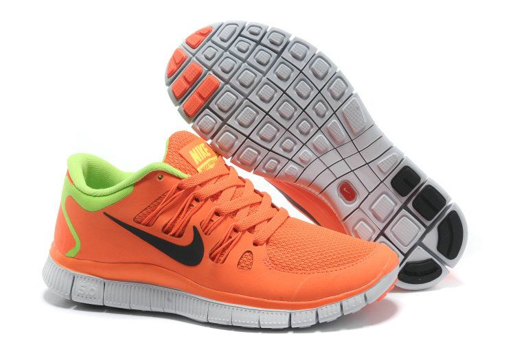 san francisco 00388 d40e3 womens nike free run 5.0 orange