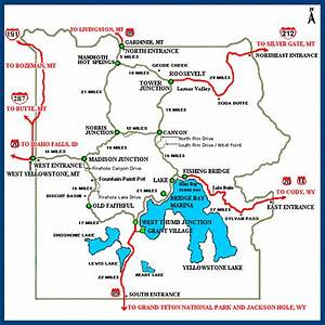 map of yellowstone and surrounding area Map Of West Yellowstone And Surrounding Area Image Search map of yellowstone and surrounding area
