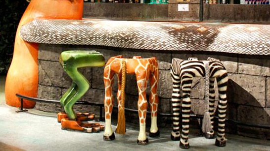 Funny Friday 104 Funky Jungle Themed Bar Stools Funny