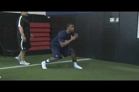NFL Hip Mobility and Strength: Mike Mickens Monster Walk