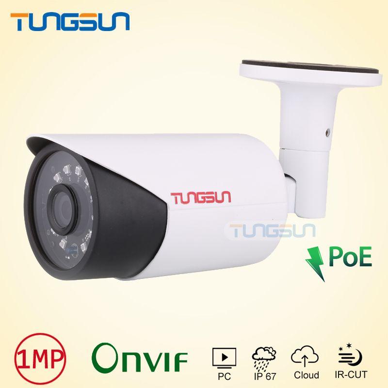 New POE IP Camera 720P 960P CCTV new infrared Aluminum