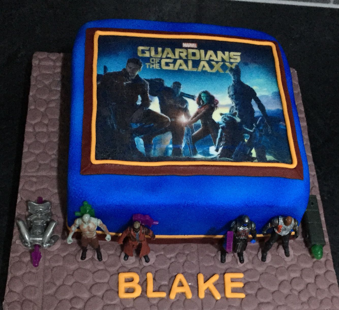 Guardians Of The Galaxy Cake Amazing Cakes Pinterest
