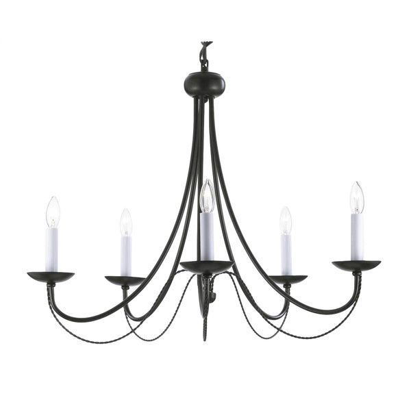 Versailles swag plug in wrought iron 5 light chandelier overstock versailles swag plug in wrought iron 5 light chandelier overstock shopping great deals on gallery chandeliers pendants dining area pinterest aloadofball Image collections