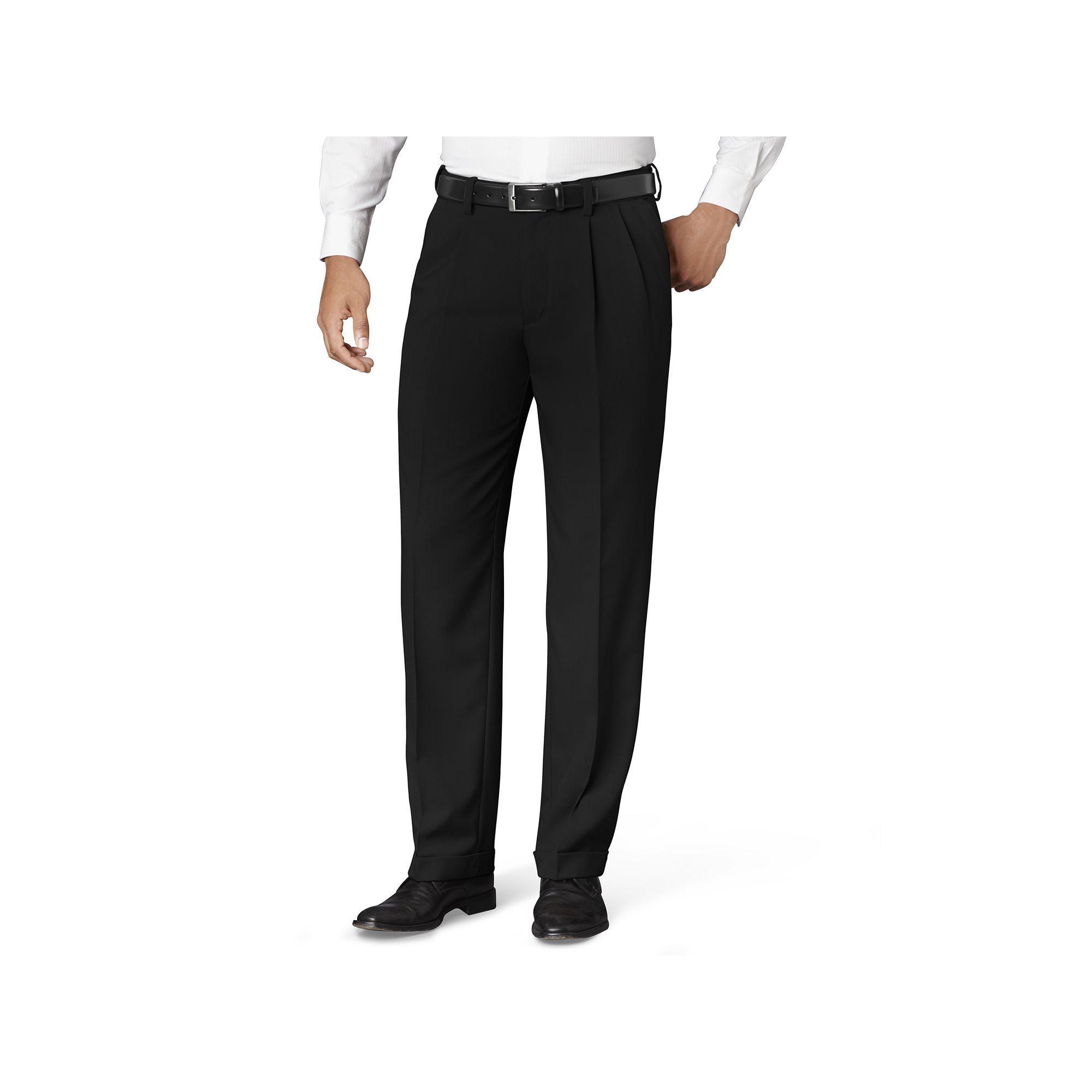 Big Tall Van Heusen Classic Fit No Iron Pleated Dress Pants Dress Pants Tall Pants Pleated Dress [ 2000 x 2000 Pixel ]