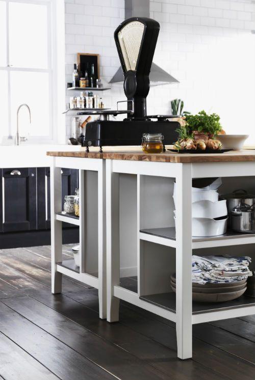 IKEA Fan Favorite: STENSTORP kitchen island. A free-standing kitchen ...