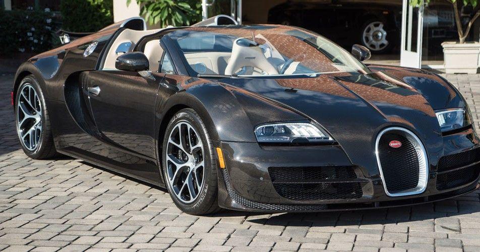 Le Diamant Noir Bugatti Veyron For Sale at Bugatti Beverly